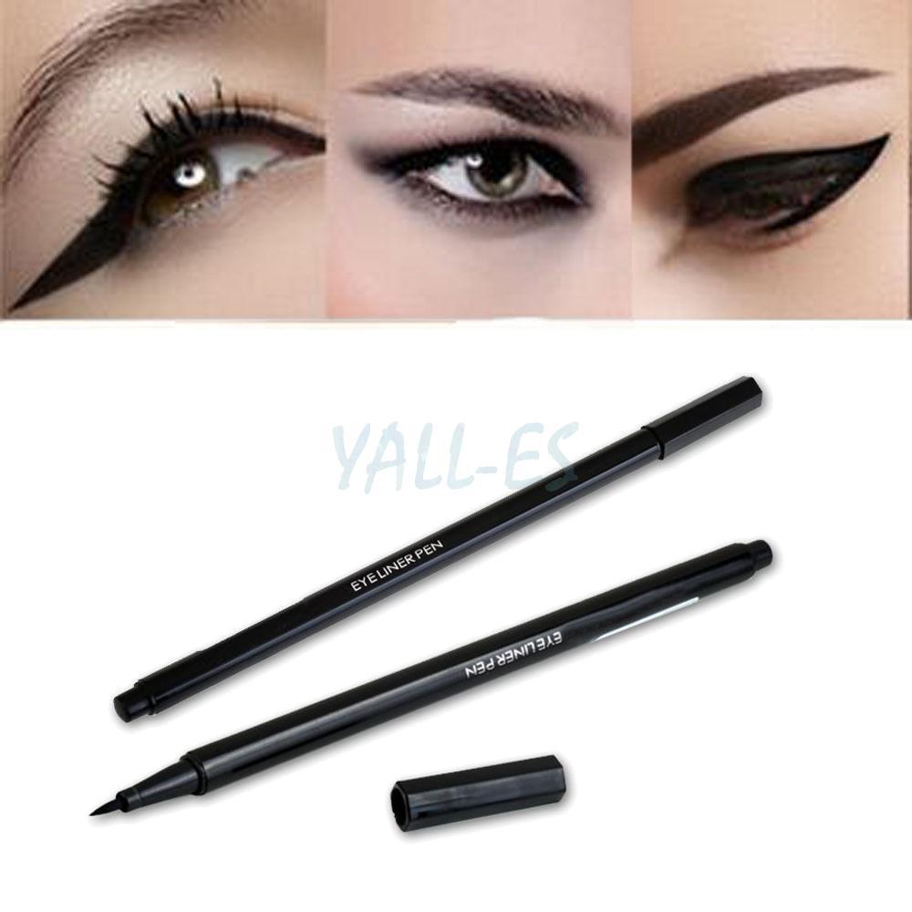 Makeup Gel Black Thin Waterproof Liquid Eyeliner Pen Eye ...