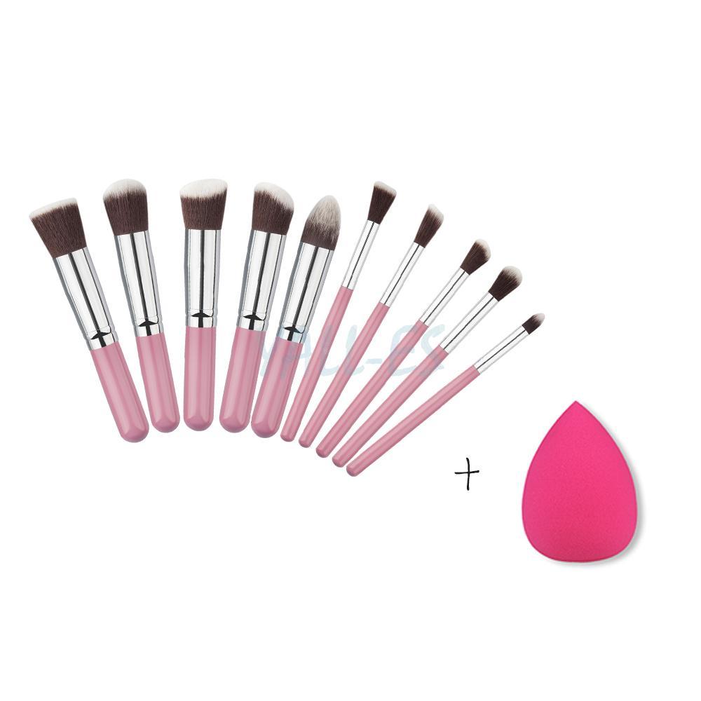 Makeup brushes description