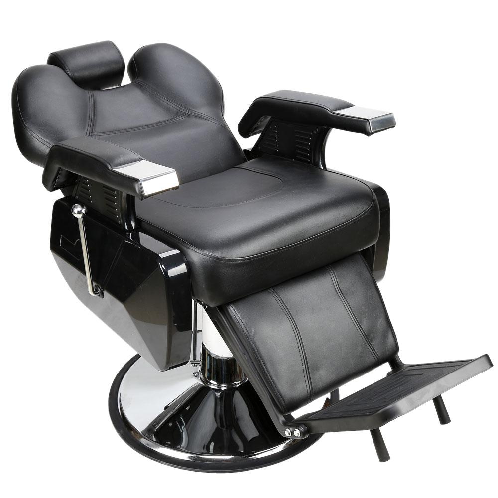 Black All Purpose Hydraulic Recline Barber Chair Hair ...
