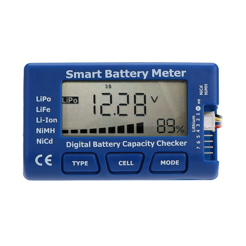Battery Capacity Test : In digital battery capacity checker tester for rc toy