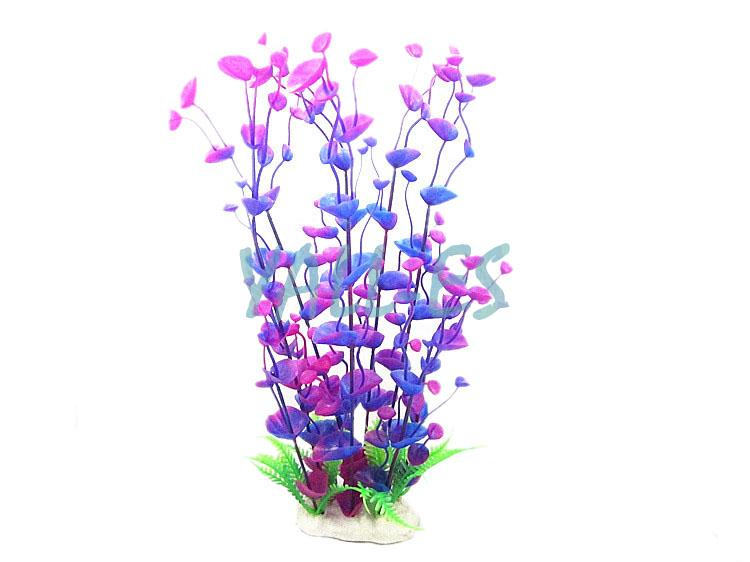 C263 simulation plant fake aquatic grass seaweed aquarium for Artificial seaweed decoration