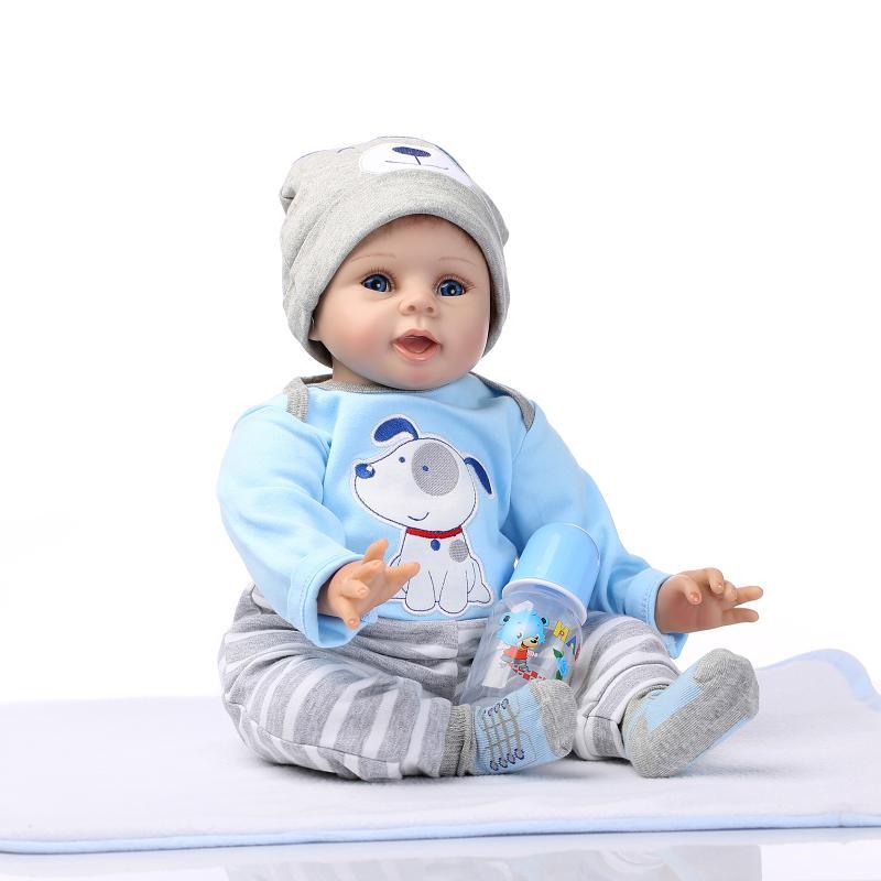 Realistic Lifelike Baby Boy Girl Silicone Vinyl Reborn