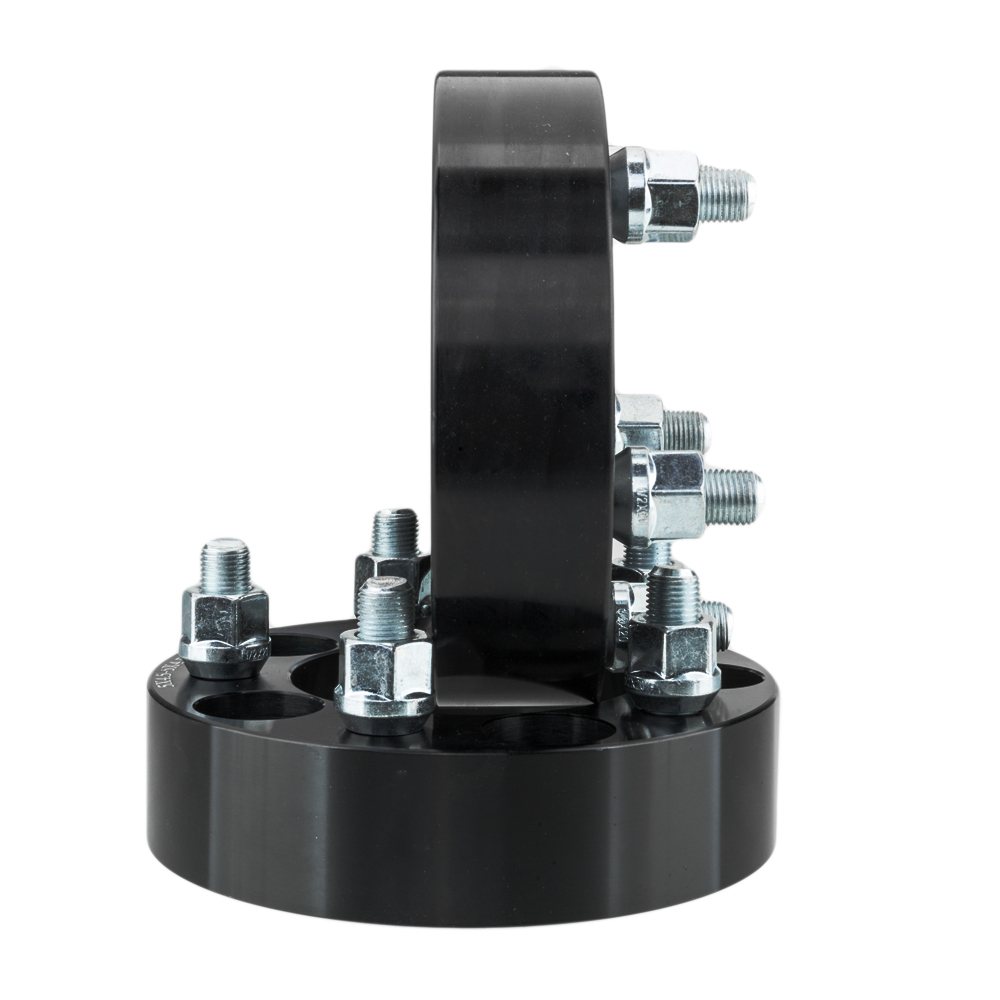 Pc   Thick Wheel Spacers Black X X  Studs For Ford Edge