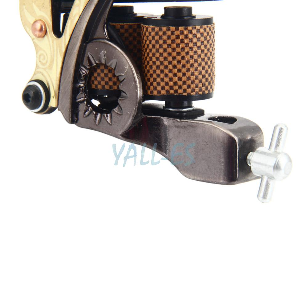 10 wrap coils low carbon steel tattoo machine gun for for Tattoo machine coil covers