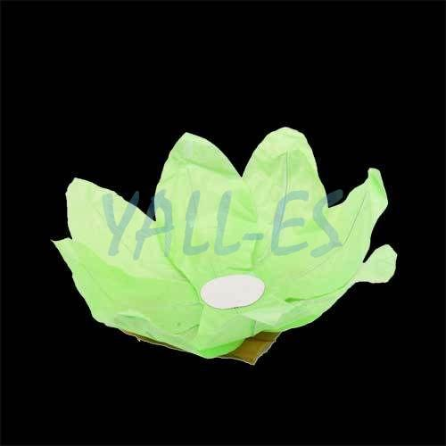 5x Paper Lotus Flower Chinese Floating Light Candle