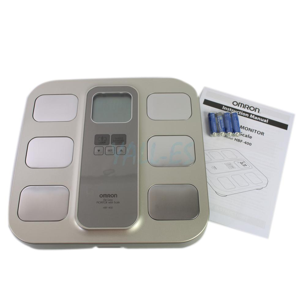 Omron Hbf 400 Full Body Composition Monitor With Scale